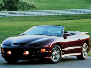 Pontiac Firebird Trans Am Convertible 1998 года