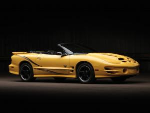 Pontiac Firebird Trans Am WS6 Ram Air Collector Edition Convertible 2002 года