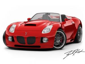Pontiac Solstice Pitbull V8 by Mallett 2007 года