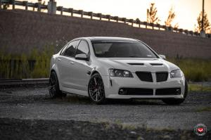 Pontiac G8 GXP on Vossen Wheels (VPS-314) 2017 года