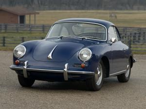 Porsche 356B 1600 Super 90 Coupe 1962 года