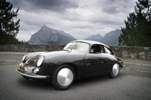 1965 Porsche 356C Outlaw Custom Coupe The Bonneville