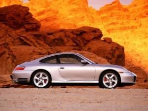 2001 Porsche 911 Carrera 4S Coupe