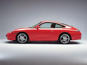 Porsche 911 Carrera Coupe 2001 года