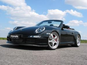 Porsche 911 Carrera Cabriolet by Cargraphic 2007 года