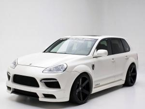 2007 Porsche Cayenne GTS Wide Body Kit by Misha Designs