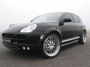 Porsche Cayenne Widebody 2 by Cargraphic 2007 года