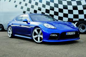 Porsche Panamera Turbo by 9ff 2009 года