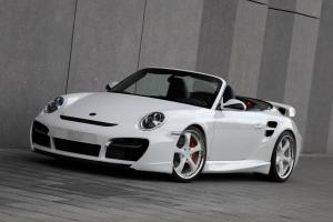 Porsche 911 Cabriolet Turbo Aerokit II by TechART 2010 года
