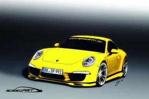 Porsche 911 SP91-R Drawnings by SpeedART 2011 года