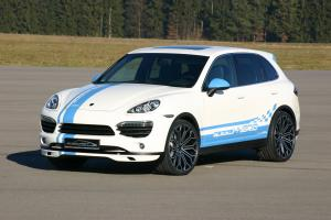 Porsche Cayenne Titan EVO XL 600 White by SpeedART 2011 года