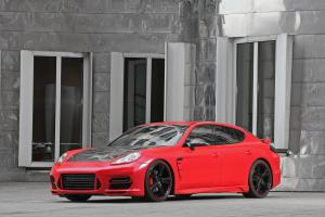 2011 Porsche Panamera Dimension In Red by Anderson Germany