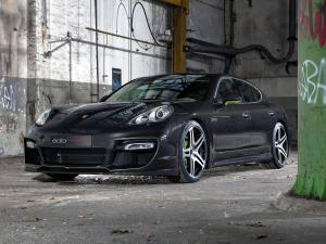 Porsche Panamera S Hellboy by Edo Competition 2011 года
