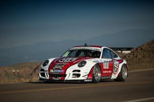 2013 Porsche 911 GT3 at Pikes Peak with Jeff Zwart