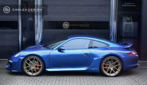 Porsche 911 Blue Electric by Carlex Design 2014 года