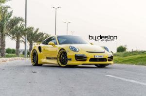 Porsche 911 Turbo S by ByDesign Motorsport 2014 года