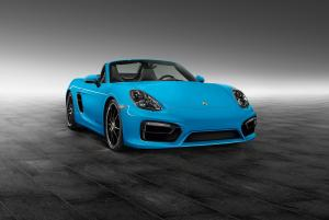 Porsche Boxster S by Porsche Exclusive 2014 года