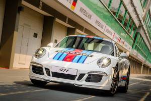 2015 Porsche 911 Carrera S Martini Racing