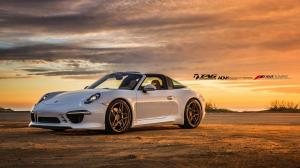 2015 Porsche 911 Targa 4S by TechArt and TAG Motorspots on ADV.1 Wheels