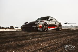 2015 Porsche 911 Turbo by Evolution Motorsports on ADV.1 Wheels (ADV5.0MV2CS)
