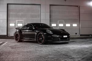Porsche 911 Turbo by PP-Performance 2015 года