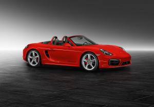 Porsche Boxster S Guards Red by Porsche Exclusive 2015 года