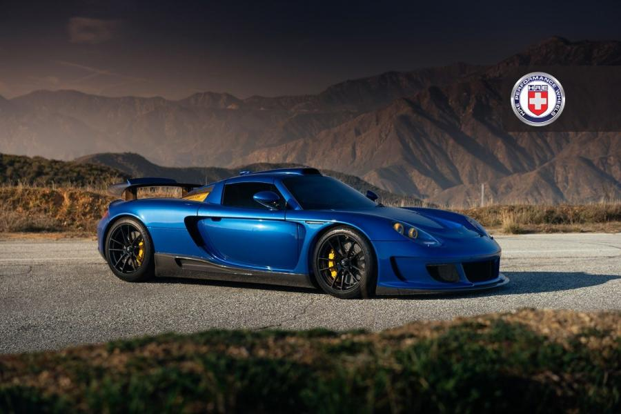 Porsche Carrera GT Mirage by Gemballa on HRE Wheels
