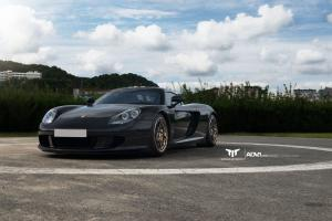 Porsche Carrera GT by Motion in Motorsport by ADV.1 Wheels (ADV05C Track Spec CS) 2015 года