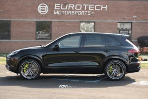 Porsche Cayenne Turbo on ADV.1 Wheels (ADV5.2TSSL) 2015 года
