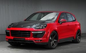 Porsche Cayenne Vantage by TopCar on ADV.1 Wheels (ADV6MV2SL) 2015 года