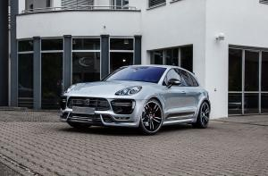 Porsche Macan Turbo by TechArt 2015 года