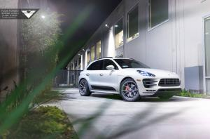 2015 Porsche Macan Turbo by Vorsteiner