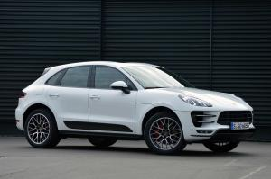 Porsche Macan Turbo 2015 года