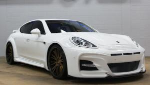 Porsche Panamera Turbo by Ultimate Auto 2015 года