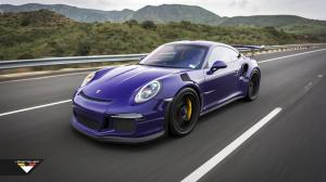 Porsche 911 GT3 RS Purple Beast by Vorsteiner 2016 года