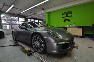 2016 Porsche 911 GTS Satin Metallic Grey by Print Tech