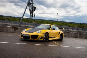2016 Porsche 911 Turbo GT Street R in Yellow by TechArt
