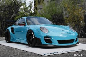 2016 Porsche 911 by Liberty Walk and RACE
