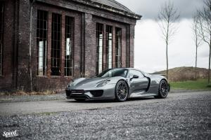 Porsche 918 Spyder by Edo Competition 2016 года