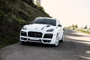 Porsche Cayenne Magnum Gold Edition by Techart 2016 года