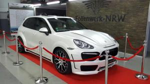Porsche Cayenne S by Prior Design and Folienwerk-NRW 2016 года