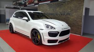 2016 Porsche Cayenne Turbo by Folienwerk-NRW