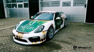 Porsche Cayman GT4 by WrapStyle 2016 года