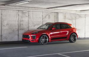 Porsche Macan PD600M Widebody by Prior-Design 2016 года