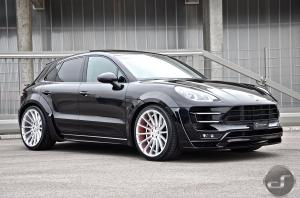 Porsche Macan Turbo by DS Automobile on Hamann Wheels (Anniversary Evo II) 2016 года