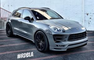 2016 Porsche Macan by Hamann and RDBLA