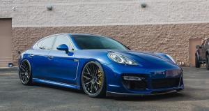 2016 Porsche Panamera Turbo on Vorsteiner Wheels (V-FF 107)