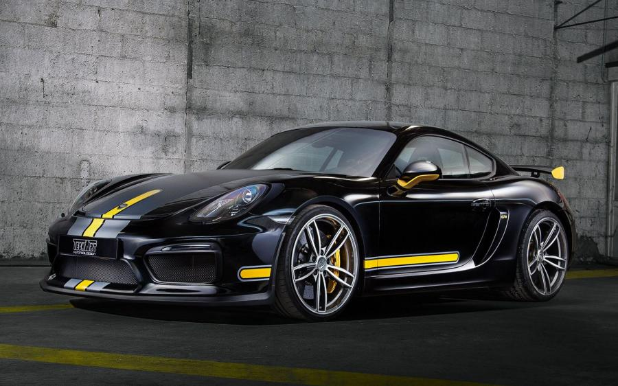 2017 Porsche 718 Cayman GT4 Formula IV Wheels by TechArt