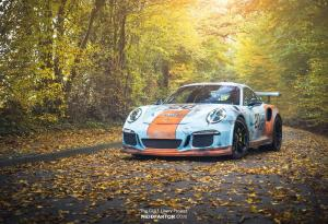 Porsche 911 GT3 RS Rusty Gulf Livery by Neidfaktor 2017 года