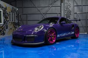 2017 Porsche 911 GT3 RS Ultraviolet Purple by R1 Motorsport on ADV.1 Wheels (ADV5.2 M.V2)